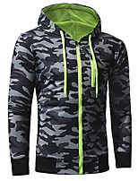 cheap -Men's Basic Hoodie - Camouflage