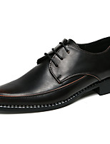 Недорогие -Муж. обувь Кожа Весна / Лето Формальная обувь Туфли на шнуровке Желтый / Красный / Официальная обувь