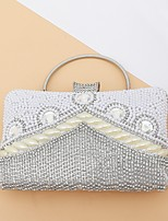 cheap -Women's Bags Evening Bag Crystals / Tassel for Wedding / Event / Party Black / Silver / Red