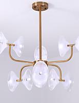 abordables -ZHISHU Inspiré de la nature Chic & Moderne Lustre Lumière d'ambiance - Style mini, 110-120V 220-240V Ampoule non incluse