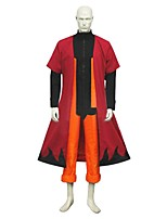 cheap -Inspired by Naruto Naruto Uzumaki Anime Cosplay Costumes Cosplay Suits Other Long Sleeves Coat Top Pants For Men's Women's