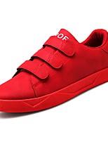 Недорогие -Муж. обувь Резина Весна / Лето Удобная обувь Кеды Черный / Серый / Красный