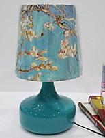 abordables -Traditionnel / Classique Cristal Décorative Lampe de Table Pour Métal 220-240V Bleu Blanc Jaune
