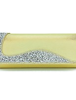 cheap -Women's Bags PU Clutch Crystals for Wedding / Event / Party Gold / Silver / Blushing Pink