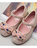 economico -Da ragazza Scarpe Di pizzo Primavera Autunno Scarpe da cerimonia per bambine Ballerine per Casual Bianco Rosa