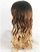 Недорогие -Необработанные Парик Бразильские волосы Естественные кудри Волнистый Стрижка каскад 130% плотность С детскими волосами Природные волосы