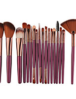 cheap -18pcs Professional Makeup Brushes Makeup Brush Set / Eyeliner Brush / Lip Brush Nylon Professional Plastic Face Portable / Universal