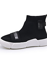 cheap -Men's Shoes Knit Spring / Summer Comfort Sneakers Black