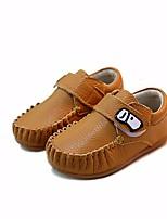 abordables -Fille Garçon Chaussures Cuir Printemps Premières Chaussures Confort Mocassins et Chaussons+D6148 pour Décontracté Blanc Jaune Bleu