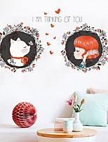 cheap -Decorative Wall Stickers - Plane Wall Stickers Princess Living Room Bedroom Bathroom Kitchen Dining Room Study Room / Office