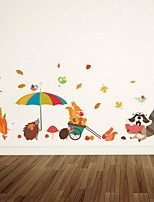 abordables -Tatuajes de pared Calcomanías Decorativas de Pared - Calcomanías de Aviones para Pared Animales Floral / Botánico Puede Cambiar de