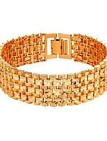preiswerte -Herrn Damen Ketten- & Glieder-Armbänder - Modisch Gold Silber Armbänder Für Alltag