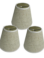 abordables -OYLYW 3pcs 15cm Accessoire d'ampoule Abat-jour Tissu Oxford