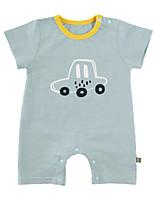cheap -Baby Unisex Geometric Half Sleeves Romper