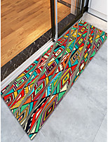 cheap -Creative Classic Traditional Doormats Area Rugs Bath Mats Flannelette, Superior Quality Rectangle Graphic Rug