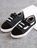 cheap -Girls' Boys' Shoes PU Spring Fall Comfort Sneakers for Casual White Black Red