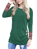 cheap -Women's Active Basic T-shirt - Solid Colored Print