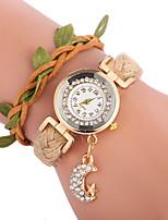 Недорогие -Жен. Кварцевый Модные часы Китайский Повседневные часы PU Группа Богемные Мода Черный Белый Синий Красный Коричневый Роуз