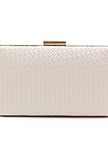 cheap -Women's Bags PU Evening Bag Pattern / Print for Wedding Event/Party All Seasons White