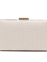 preiswerte -Damen Taschen PU Abendtasche Muster / Druck für Hochzeit Veranstaltung / Fest Ganzjährig Weiß