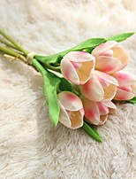 cheap -Artificial Flowers 6 Wedding Flowers / Pastoral Style Tulips Tabletop Flower / Not Included