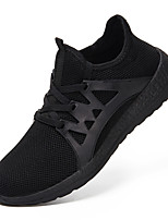 cheap -Men's Shoes Knit Spring / Summer Comfort Sneakers Black / Gray / Blue