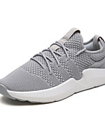 cheap -Men's Shoes Knit Spring Summer Comfort Sneakers for Casual Outdoor Gray Black/Gold Black/White