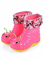 cheap -Boys' / Girls' Shoes PVC Leather Spring & Summer Rain Boots Boots for Blue / Pink