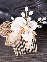 cheap -Women's Trendy Fashion Bridal Alloy Crystal Hair Combs Wedding Birthday