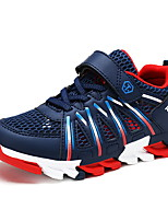 cheap -Boys' Shoes Tulle / PU Summer Comfort Athletic Shoes Running Shoes Magic Tape for Gray / Red / Blue