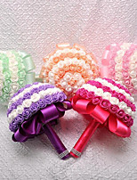 cheap -Wedding Flowers Bouquets Photo Booth Props & Signs Wedding Silk Foam 11-20 cm