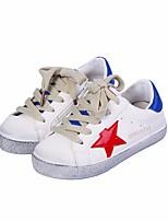 abordables -Garçon Chaussures Polyuréthane Printemps Automne Confort Basket pour Décontracté Blanc