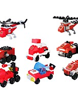 cheap -Building Blocks Vehicles Parent-Child Interaction / Decompression Toys Police car / Fire Engine Vehicle / Helicopter Unisex Gift