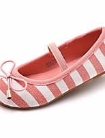 cheap -Girls' Shoes Canvas Spring Fall Comfort Flats for Casual Blue Pink