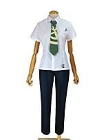 abordables -Inspiré par Dangan Ronpa Cosplay Manga Costumes de Cosplay Costumes Cosplay Autre Manches Courtes Haut Pantalon Cravate Pour Unisexe