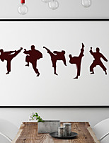cheap -Wall Decal Decorative Wall Stickers - People Wall Stickers Famous Re-Positionable Removable