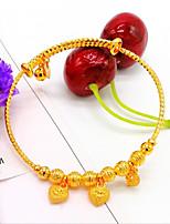 cheap -Women's Gold Bangles - Gold Bracelet For Wedding Engagement
