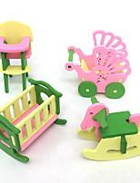 abordables -Thème classique Interaction parent-enfant Simulation Design nouveau En bois Tous Enfant Cadeau