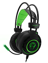 cheap -K11 Wired Headphones For PC Headphones PU Leather 1pcs unit 220cm All-In-1 USB 2.0