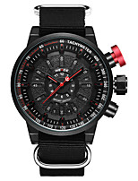 cheap -WEIDE Men's Digital Dress Watch Fashion Watch Japanese Calendar / date / day Water Resistant / Water Proof Large Dial Dual Time Zones LCD