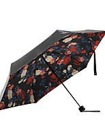 cheap -Fabric Women's / Adults' Sunny and Rainy Folding Umbrella