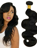 cheap -Peruvian Hair Wavy Human Hair Weaves 4pcs Hot Sale Extention Natural Color Hair Weaves Human Hair Extensions All Christmas Gifts