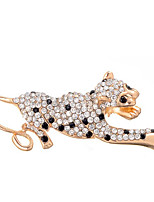 cheap -Women's Brooches Rhinestone Alloy Irregular Gold Lovely Sweet Jewelry Party Daily Costume Jewelry