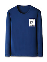 cheap -Men's Street chic Sweatshirt - Color Block