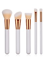 cheap -5 pcs Professional Makeup Brushes Makeup Brush Set / Powder Brush / Eyeshadow Brush Synthetic Hair Eco-friendly / Professional / Soft Wood