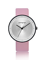 cheap -Women's Quartz Fashion Watch Casual Watch PU Band Minimalist Fashion Black Brown Pink