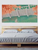 abordables -Autocollants muraux décoratifs - Autocollants avion 3D A fleurs / Botanique Salle de séjour Chambre à coucher Salle de bain Cuisine Salle
