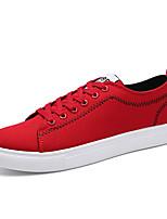 Недорогие -Муж. обувь Ткань Весна / Осень Светодиодные подошвы Кеды Черный / Серый / Красный