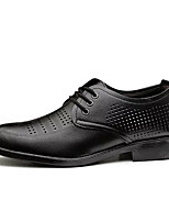 cheap -Men's Shoes Synthetic Microfiber PU Summer Comfort Oxfords for Casual Black