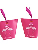 "cheap -2"" Diamond Art Paper Favor Holder with Ribbons Favor Boxes - 25"